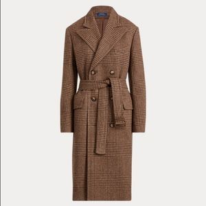 Ralph Lauren wool trench style coat
